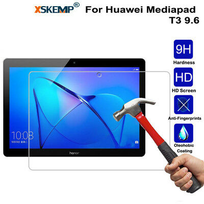 Genuine Tempered Glass Film Screen Protector For Huawei Mediapad T3 9.6 Tablet