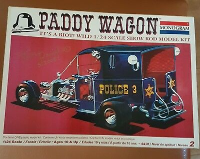 Tom Daniel aurographed Paddy Wagon model kit