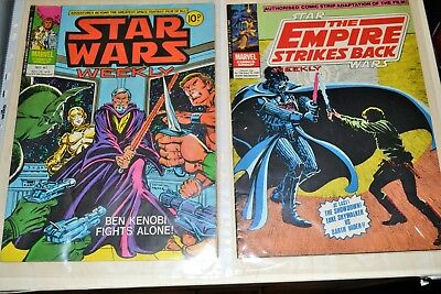 Star Wars Comics 1970's and early 1980