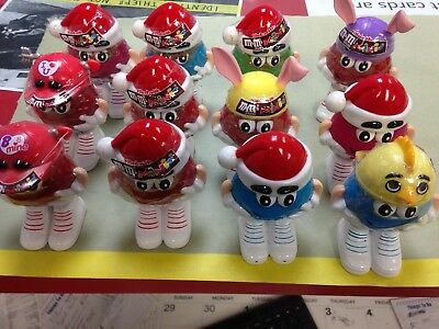 M & M  Holiday Candy Holders
