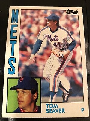 1984 Topps Tom Seaver 740 Baseball Card Reds Mets Red Sox