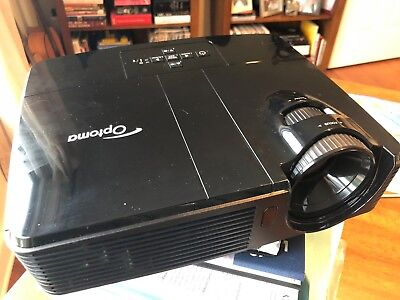 Optoma TS551 - DLP projector - portable - 3D - with cords and carrying case