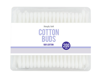 Cotton Buds Box - 200 Pack