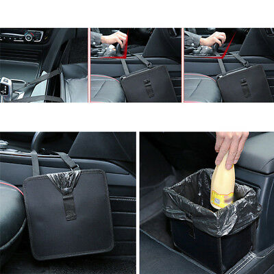 6.5L Car Trash Can Litter Garbage Bin Wastebasket Storage Holder Organizer New