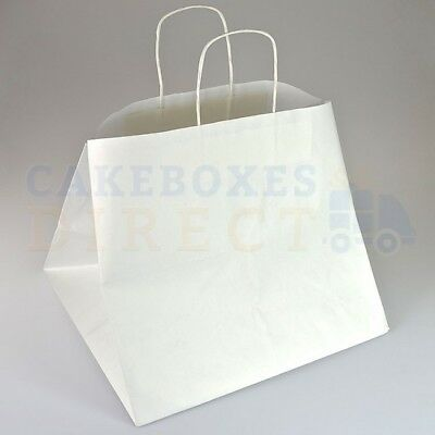 100 X CUPCAKE CARRIER BAG (12) 365 x 330 x 320mm FREE NEXT DAY DELIVERY*