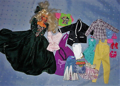 Barbie Happy Holiday Fashion Doll Clothes Shoes - Some with Tags (Lot 3)