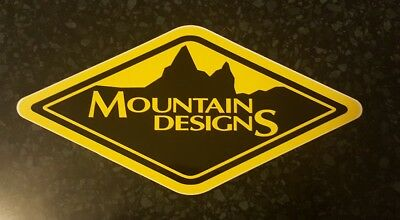 mountain designs sticker