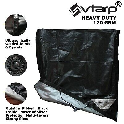 vtarp® HEAVY DUTY WATERPROOF RAIN SNOW BBQ COVER BARBEQUE GRILL PROTECTOR ALL SZ