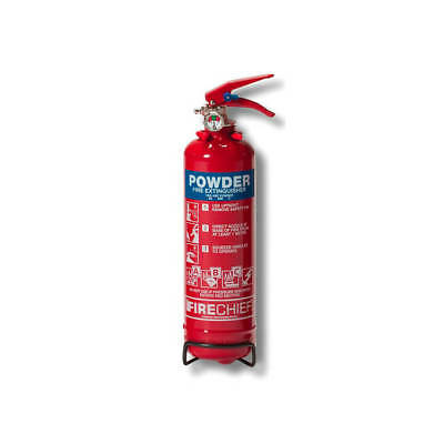 IVG Firechief Fire Extinguisher Refillable Dry Powder for    1Kg
