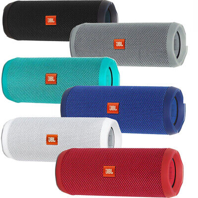 JBL Flip 4 Portable Bluetooth Wireless Stereo Speaker Waterproof w/ Built in Mic