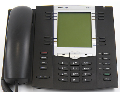 Aastra 6757i Fully Featured Expandable VoIP IP Telephone NIB FREE Shipping New