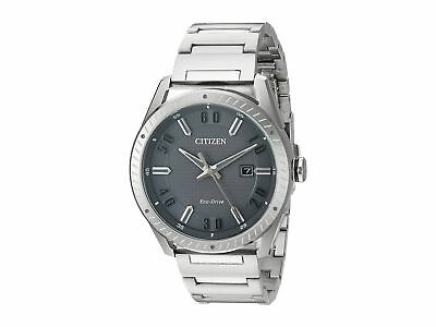 Citizen Men's Eco-Drive Grey Dial Stainless Steel Watch BM6991-52H