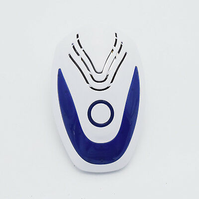Pro Ultrasonic Pest Repeller Electronic Plug-In Repellent Anti Mice Blue #19