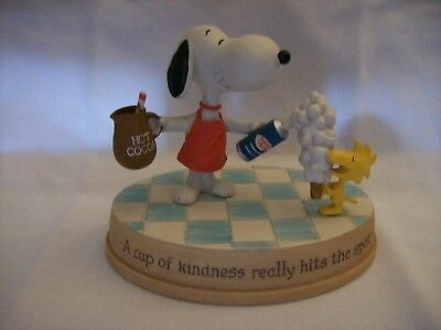 Hallmark Peanuts Snoopy A Cup of Kindness Really Hits the Spot Figurine 2011