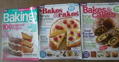 BBC GOOD FOOD HOME COOKING SERIES MAGAZINES x3