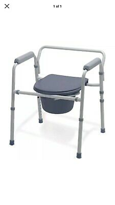 Bedside Commodes Medline Guardian G30213-1F Deluxe Commode/Toilet Seat/Safety