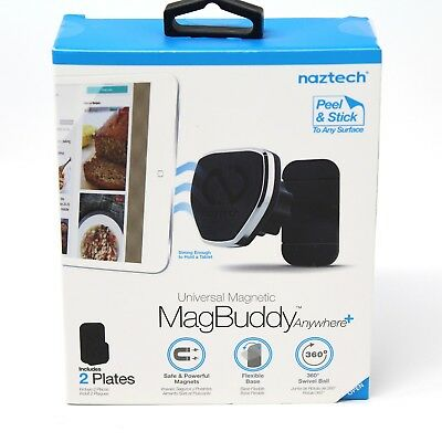 New Naztech MagBuddy Anywhere+ Plus Universal Magnetic Adhesive Mount Holder