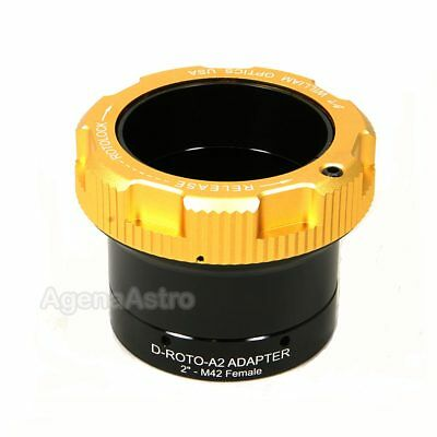 "William Optics 2"" RotoLock Eyepiece Adapter w/ T Female Thread D-ROTO-A2-M42F"