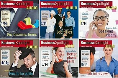 6 x Business Spotlight AUDIO - Jahrgang 2014 - komplett  OVP