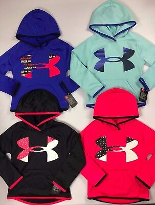 Girl's Little Youth Under Armour Pullover Hoodie