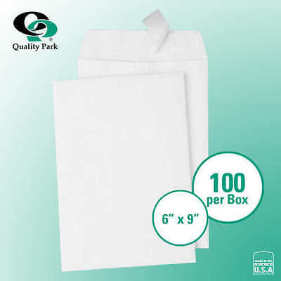"Quality Park Redi-Strip Catalog Envelope 6"" x 9"" White, 100-count *FREE SHIPPING"