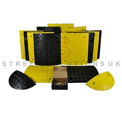 HEAVY DUTY UK 5MPH Speed Ramp Kit (75mm) - ALL SIZES - QUALITY SPEED BUMP KIT