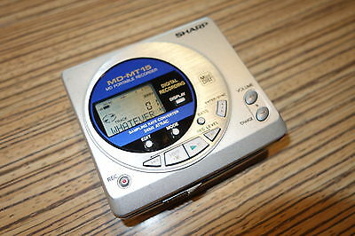 Sharp MT 15  Minidisc  Recorder Player . ok aber zweite Wahl  (749)