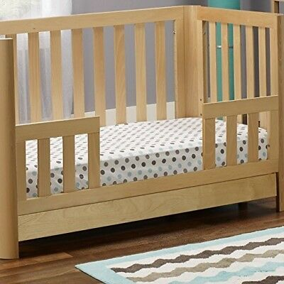 C & T International 147-N Toddler Rail Natural Finish High Quality Bed Rails New