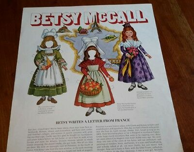 1970 BETSY MCCALL Paper Doll Letters France - Get Sassy Drink WINK SODA AD PRINT