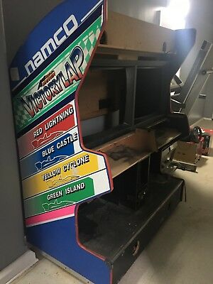 Ace diver victory lap racing arcade project machine