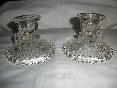 antique Crystal single light candle holders by Sherry Riggs & Paula Pendergrass