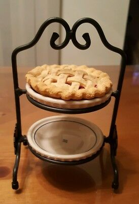 "Longaberger 3"" Miniature Cherry Pie for Grandma Bonnie's CC Mini Pie Plate"
