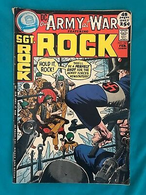 DC Comics Our Army At War Vol. 1 # 241 1972