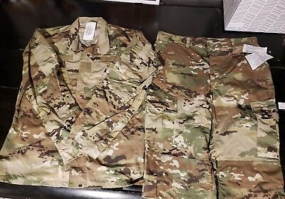 OCP Multicam Jacket and pants Army Combat Uniform, Insect Flame Resistant large