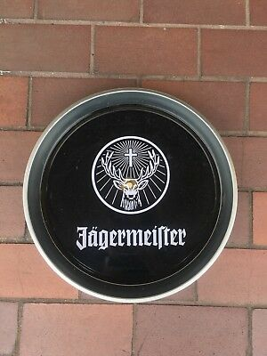 Jagermeister Serving Tray Deer Head Logo....RARE