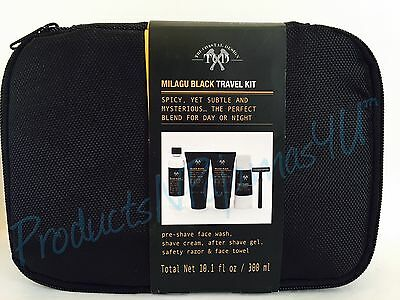 Tri Coastal Design Mens Essential Kit Milagu Black 4 Pieces 108