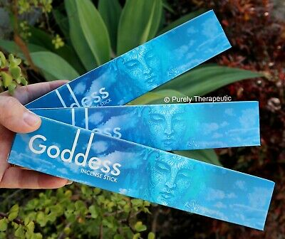 GODDESS MASALA INCENSE STICKS~New Moon15gms x 3 Wicca Divine Pagan Ritual Spirit