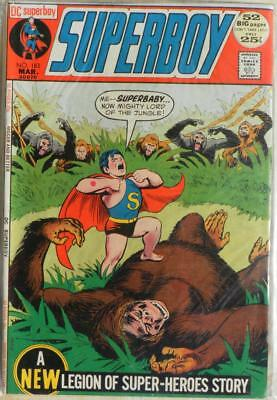 Superboy 188 VG/FN Super-Savage Lord of the Concrete Jungle
