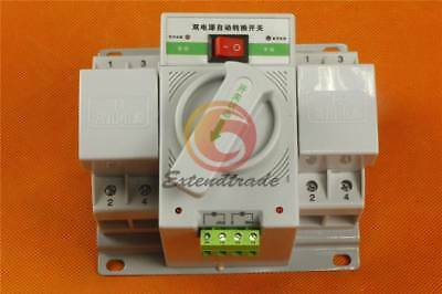New Q3R-63 Intelligent Mini 63A 3-Phase Dual Power Automatic Transfer Switch