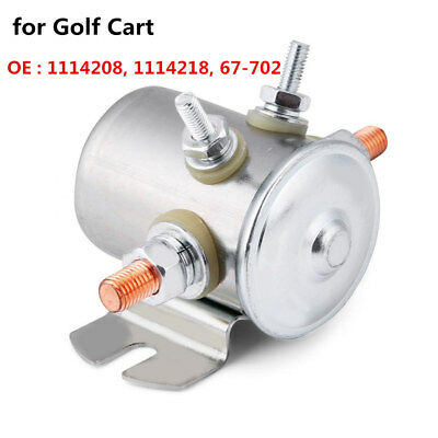 Continuous Duty Solenoid Relay Switch 12V 150A for Golf Cart 1114208/1114218 LJ4