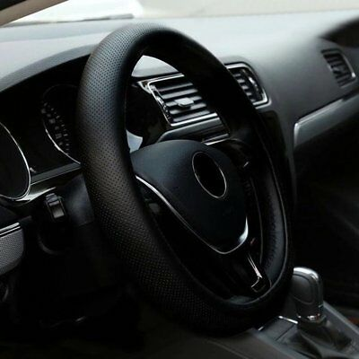 PU Leather Car Auto Steering Wheel Cover With Needles And Thread Vehicle Cover 5