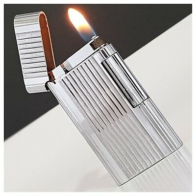 Briquet gaz * ZIPPO 2 D chromé * Rollagas- Lighter-Feuerzeug-Accendino-collector