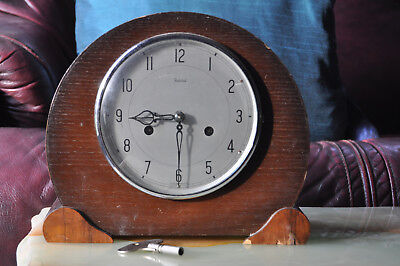 Vintage Chiming Mantel Clock 1951 with Keys