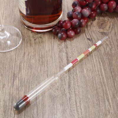 3 Scale Home brew Hydrometer Wine Beer Cider Alcohol Testing Making Tester AZ
