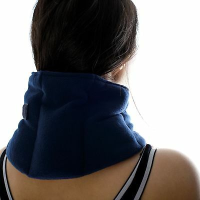Microwavable Wheat Bag For Neck Secured Round Joints For Sustained Heat Therapy