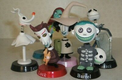 Jack Skellington Sally Bobble Head Figures Magnets Nightmare Before Christmas