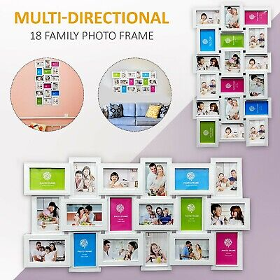 18 MULTI PHOTO Frame Family Love Friends Party Wall Mounted Picture ...