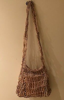 Handmade Bag  Bilum from Natural Bush Vines from Papua New Guinea
