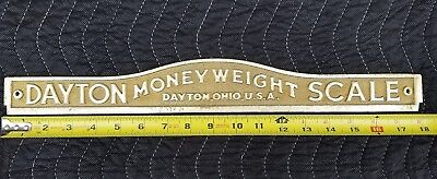 DAYTON Money Weight Scale Top Plate