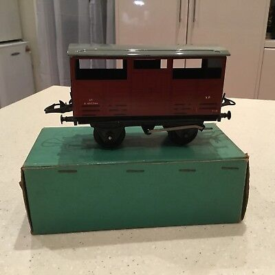 HORNBY O GAUGE No 5o Cattle Truck Boxed Excellent Condition.